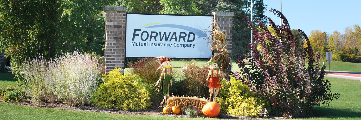 Forward Mutual Insurance Company in autumn decor