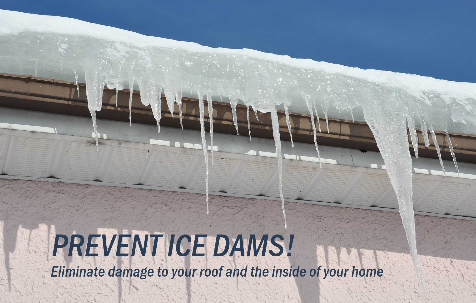 Ice Dams on Wisconsin Homes