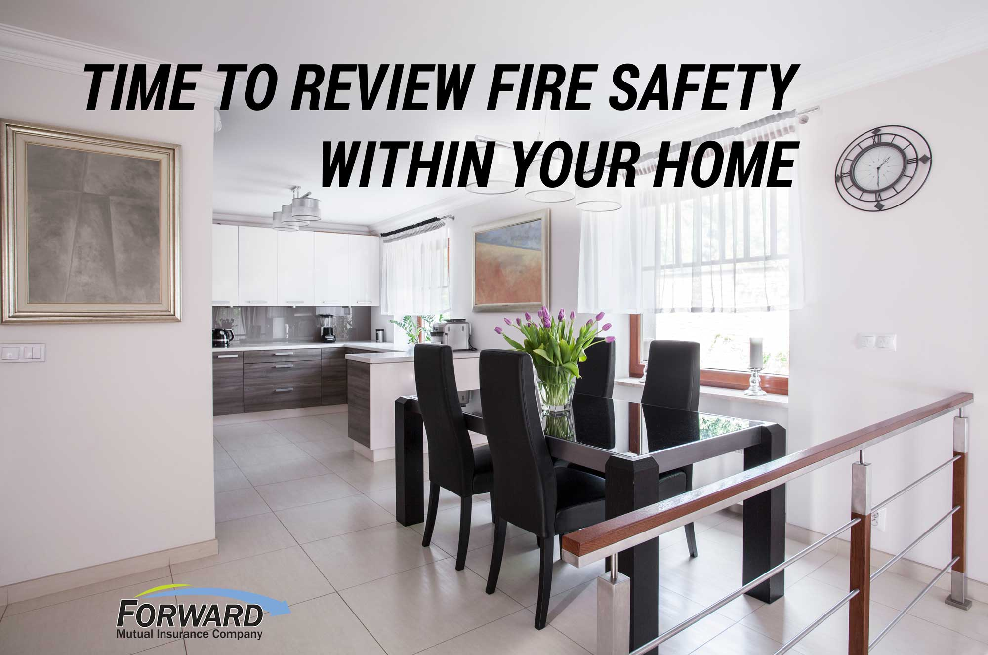Modern homes need extra fire safety measures