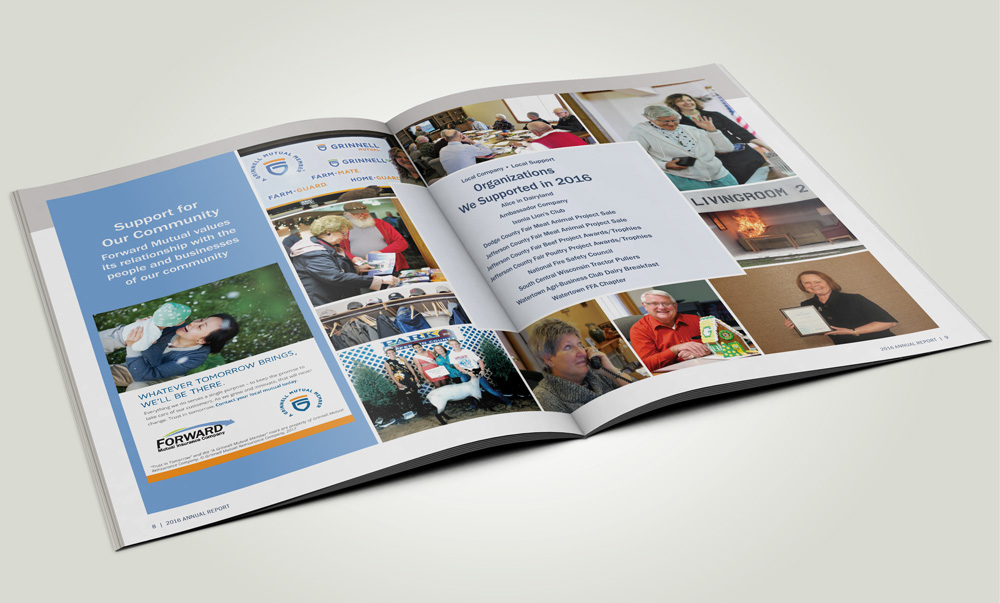 Forward Mutual's 2016 annual report